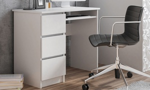 Bureau avec 3 tiroirs