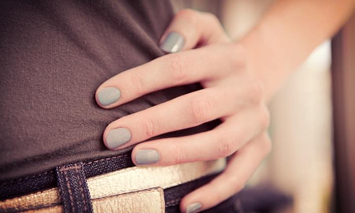 A Handful Salon - Scarborough: $20 for Manicure and Cuccio Deep-Moisturizing Hand Wrap at A Handful Salon ($41 Value)