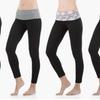 Sociology Women's Fold-Over Waist Leggings (4-Pk.)