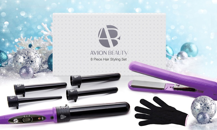 Hair Styling Tools Set Curling Iron