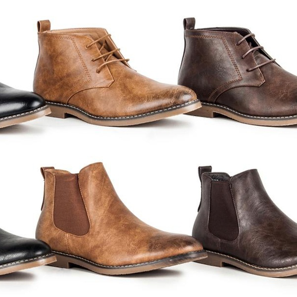 a53d44744 Miko Lotti Men's Chukka and Chelsea Boots (Sizes 7.5, 9.5, 13) | Groupon