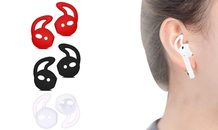 One, Two or Three Pairs of Ear Hooks Compatible with Apple AirPods