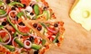 Manhattan Express - Clayton: $16  for a 16-Inch Pizza with Toppings, Salad, and Drinks at Manhattan Express (Up to $29  Value)