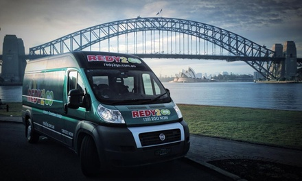 Redy2go: $3 for 20% Off All Shuttle Transfers Including Sydney Airports, Hotels, Cruise Ship Terminals & Amusement Parks