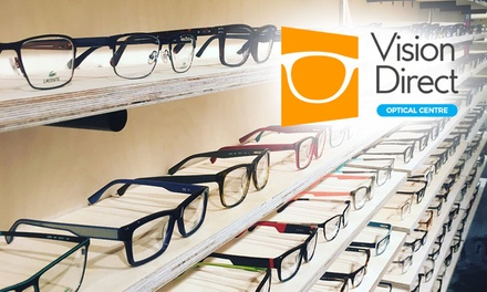 $5 for $50 In-Store Credit at VisionDirect, Shop 1, 220 George Street, Sydney