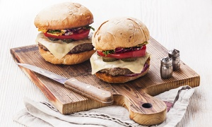 Libera Dimensione - Taurus Factory: Menu gourmet hamburger o sandwiches alla carta per 2 o 4 persone da Taurus (sconto fino a 72%)