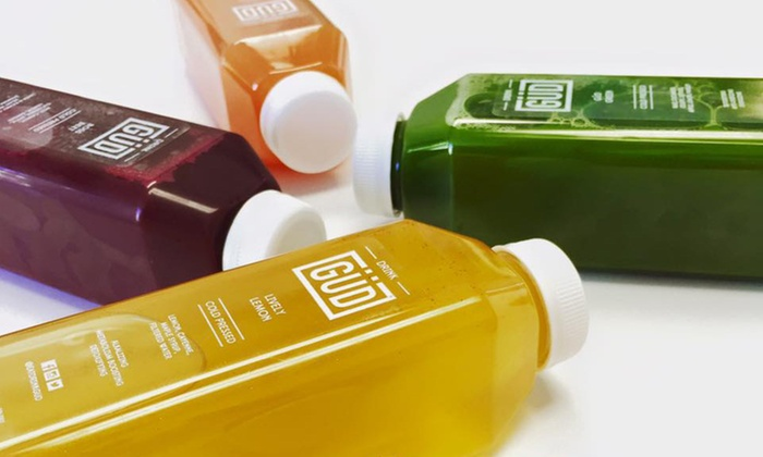 Güd To Go - Lytton Park: C$20 for Two Groupons, Each Good for $20 Worth of Raw Cold-Pressed Juice at Güd To Go (C$40 Total Value)