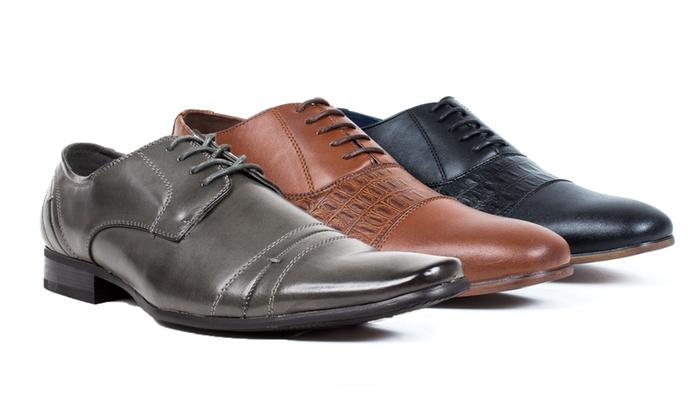 Bonafini Men's Lace Up Dress Shoes