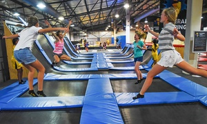 iJUMP: One-Hour iJUMP Trampoline Access from R50 for One at iJUMP