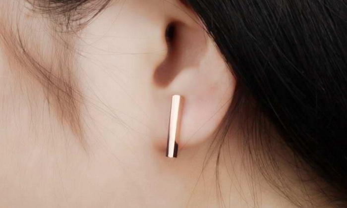 boucle d'oreille t