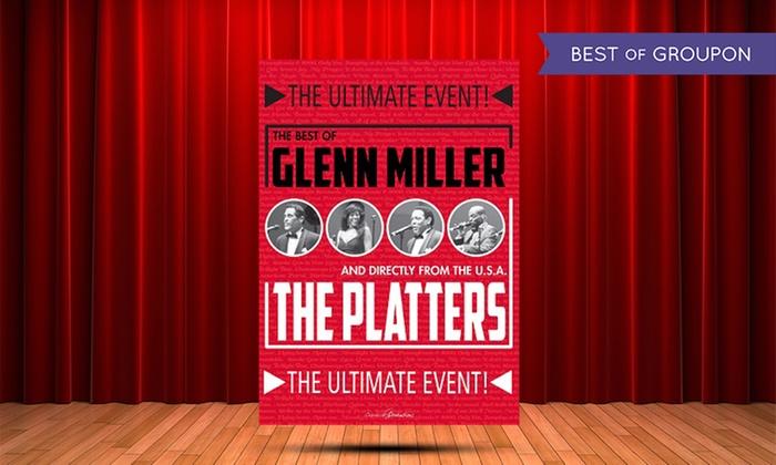 BEL3 asbl - Stadsschouwburg Antwerpen: Inkomticket 'Glenn Miller & The Platters' in de Stadsschouwburg te Antwerpen