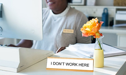 One Funny Desk Plate from 904 Custom (39% Off)