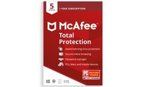 Logiciel antivirus McAfee