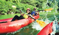 60-Minute Canoeing Tour with a Drink and Snack Each for Two for R139 at Umngeni Adventure Park (53% Off)