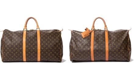 Louis Vuitton Keepall 55 Second-Hand Travel Bag
