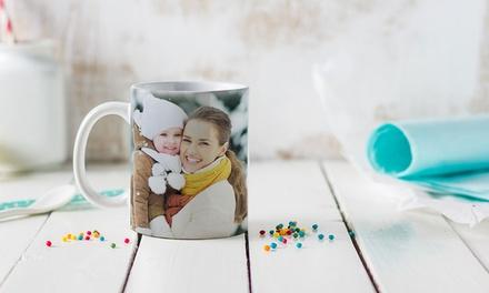 1x oder 2x personalisierbare Foto-Tasse (bis zu 84% sparen*)