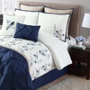 Lydia Embroidered Comforter Set (8-Piece)
