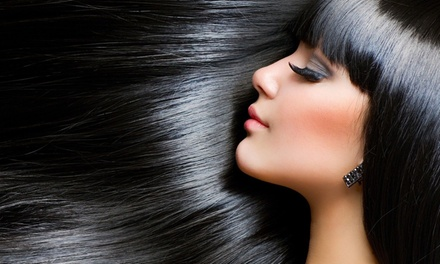 Cut, Blow-Dry and Treatment ($29) with Half-Head ($49) or Full-Head Foils ($79) at Nadia's Hair Professionals