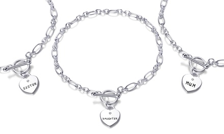 Philip Jones Bracelet with Crystals from Swarovski®