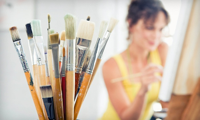 Supernal Arts - North Vancouver: One or Three Two-Hour Painting, Drawing, or Sculpting Classes at Supernal Arts (Up to 64% Off)