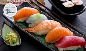 Sushikaiten: Sushi All you can eat e sakè per 2 o 4 persone al ristorante Sushikaiten a San Benedetto del Tronto (sconto fino a 62%)