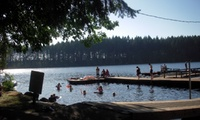 2-Night Stay for Two with Pontoon Rental and Restaurant Credit at Offut Lake Resort in Tenino, WA