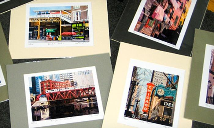 Josh Moulton Fine Art - Lincoln Park: $50 for $100 Worth of Prints and Note Cards at Josh Moulton Fine Art