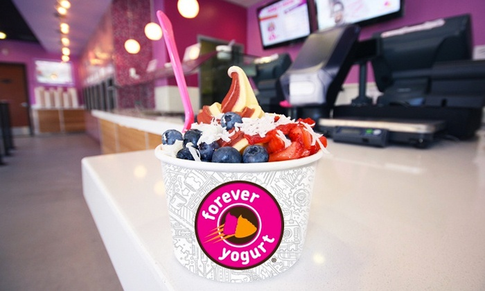 Forever Yogurt - Federal Hill - Montgomery: $5 for $10 Worth of Frozen Treats and Hot Chocolate Bar Access at Forever Yogurt