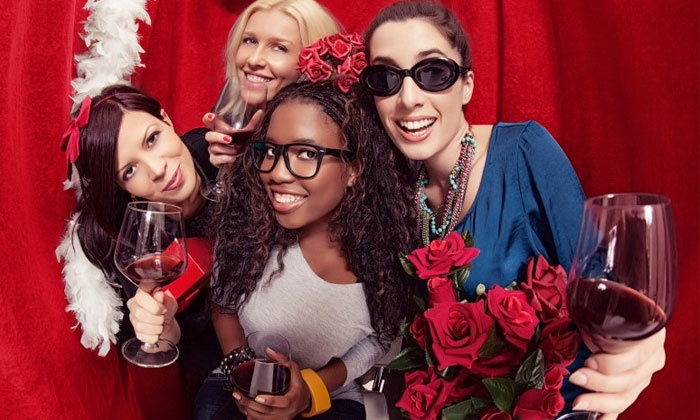 Dazzle Photobooth - Orange County: Two- or Four-Hour Photo-Booth Rental Package from Dazzle Photobooth (Up to 55% Off)