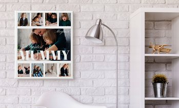 Personalised Collage Photo Canvas