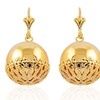 Ball Dangle Earrings in 18K Gold Plating