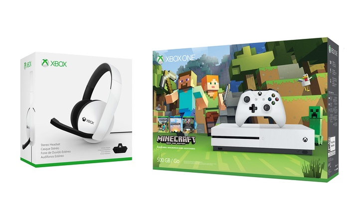 Xbox One S 500GB Console | Groupon Goods