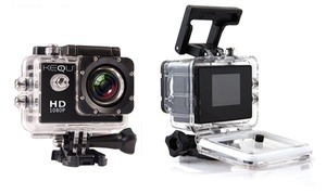 ActionCam KEQU – Full HD 1080p