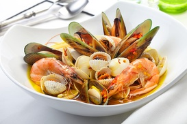Brasserie Marbre: Viergangen keuzemenu met vis of vlees vanaf € 49,99 bij Brasserie Marbre in Izegem