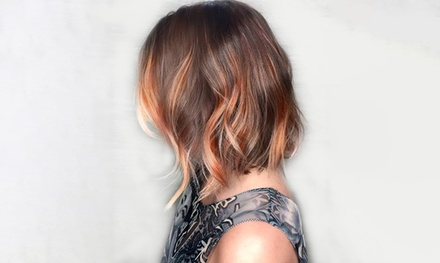 Hair Services at The Loft Salon (Up to 58% Off). Three Options Available.