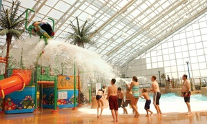 Waves Indoor Waterpark Visit for One or Four at Americana Resort (Up to 66% Off)