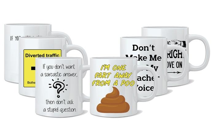 One or Two Novelty Ceramic Mugs