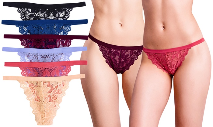 6cb4173d6203 Up To 70% Off on Women's Sheer G-String Thongs | Groupon Goods