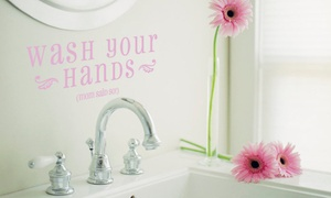 Lacy Bella Designs: $20 for $50 Worth of Vinyl Wall Decals and Gifts from Lacy Bella Designs