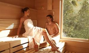 Spa Fattoria Belvedere: Percorso spa illimitato di coppia anche notturno con accesso alla piscina esterna e menu cena da Spa Fattoria Belvedere