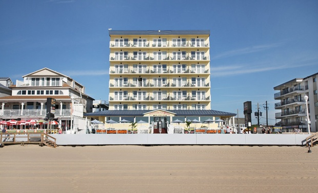 Howard Johnson Plaza Hotel Ocean City Oceanfront