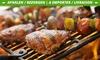 Panier de viande special barbecue