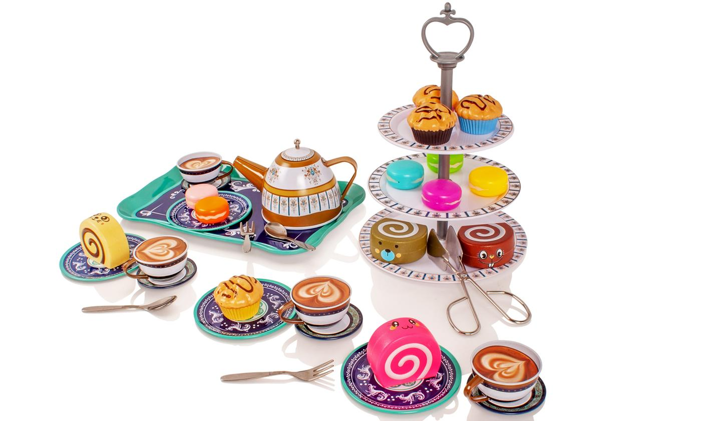 Milly and Ted 34-Piece Afternoon Tea Playset