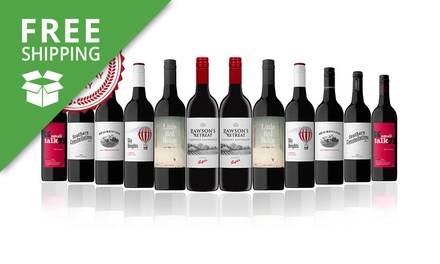 Free Shipping: $59 for a 12 Bottle Mixed Case of Australian Red Wine Including Penfolds (Dont Pay $189)