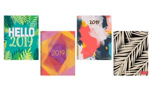 2019 Large Weekly and Monthly Planner