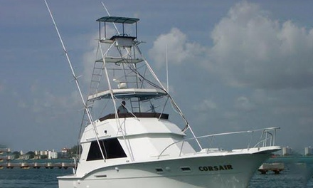Four-Hour Deep-Sea Fishing Trip for One or Two from Fish On Board (Up to 50% Off)