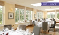 Seven-Course Taster Meal for Up to Four at Losehill House Hotel & Spa (40% Off)