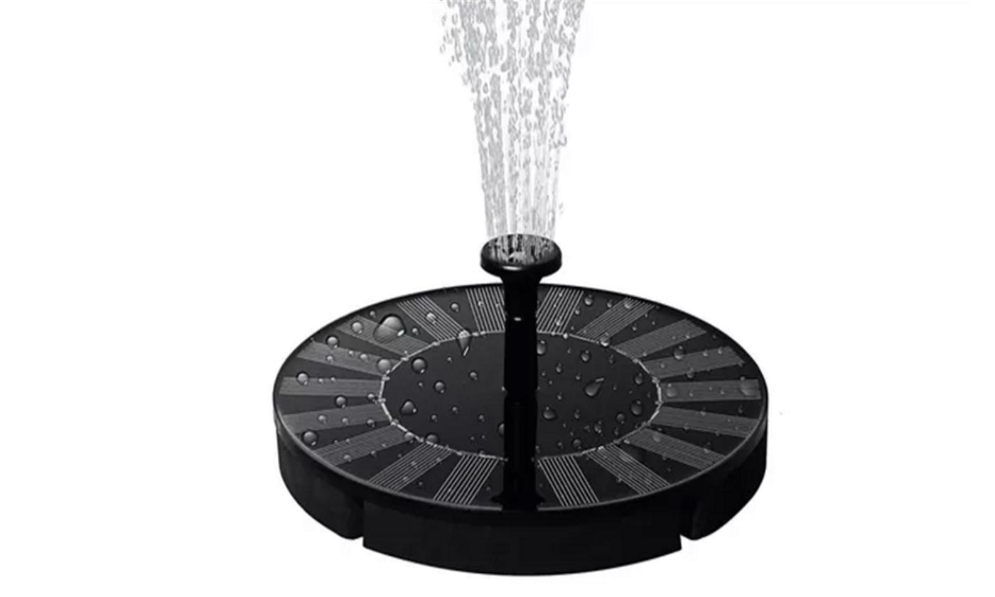 Solar-Powered Fountain Pump