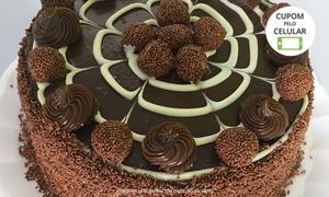 Pãozinho e Cia - Fábrica de Salgados: Pãozinho e Cia - Vila Laura: bolo decorado ou torta doce