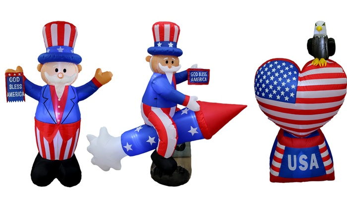 Wonderful 4th Of July Patriotic Lawn Inflatables: 4th Of July Patriotic Lawn  Inflatables ...
